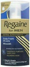 Regaine for Men Hair Regrowth Foam Extra Strength 5% 1 Month Supply Original UK