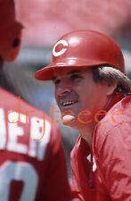 1985 Pete Rose CINCINNATI REDS - 35mm Baseball Slide