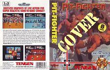 PIT-FIGHTER (1991) SEGA GENESIS COVER, NO CARTUCCIA