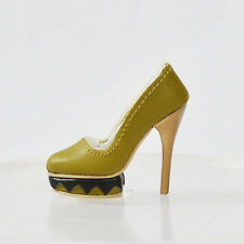 "Tonner Robert 16""Ellowyne Wilde BJD Delilah Noir Doll Olive Shoes 5-SDS-07N"