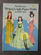 Tom Tierney Vivien Leigh Paper Dolls in Full Color Book - Unused & Near Mint