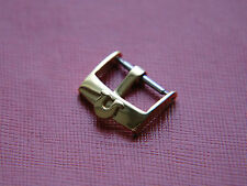 VINTAGE 16MM OMEGA YELLOW GOLD WATCH STRAP BUCKLE