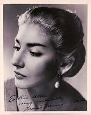 Callas, Maria - Signed Photograph
