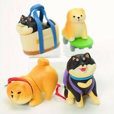 Cute Shiba Inu Chubby Puppy Brown Black Dog Figure 1 Random Surprise Toy
