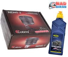 Cobrra Nemo 2 Automático Motocicleta Moto Cadena Engrasador Kit universal, libre de aceite