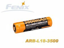 Fenix 18650 - 3500mAh, 3,6v - 3,7V ARB-L18-3500 Li Ion Battery Protected