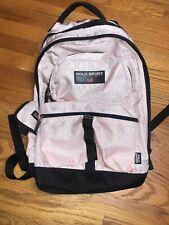 Polo Sport Ralph Lauren Spell USA Flag Backpack Book Bag Pink VINTAGE 🔥🔥🔥