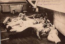 12529/ Foto AK, Leben und Alltag der Roten Flotte, Mittagspause, 1930