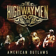THE HIGHWAYMEN - LIVE - AMERICAN OUTLAWS (3-CD/DVD)  4 CD NEUF