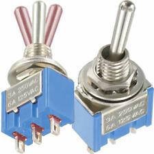 1 St. Standard Miniatur Kippschalter 1x EIN-AUS-EIN 3/6A 250/125V AC <36V 3A DC