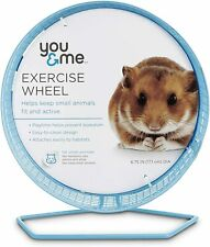 New You & Me Hamster Gerbil Rat Guinea Pig Chinchilla Exercise Wheel, 6.75""