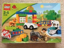 LEGO Duplo Zoo Set 6136 Boxed Complete Clean