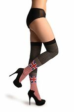 Union Jack With White, Red, Grey and Black Stripes (SO003094)