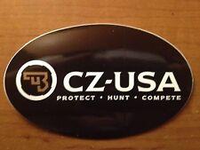 CZ USA Firearms Black Decal Sticker