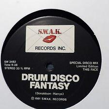 """MAXI 12"""" Various DRUM DISCO FANTASY SW 3482"""