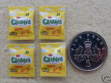 "FOUR PACKETS of DOLLS HOUSE MINIATURE ""QUAVERS""  Handmade 1:12th Scale"