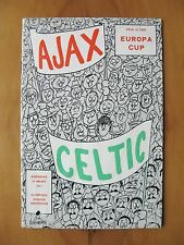 AJAX v CELTIC European Cup 1970/1971 *VG Condition Football Programme*