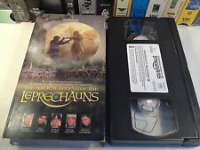 The Magical Legend Of The Leprechauns Rare VHS 1999 OOP HTF Fantasy Comedy