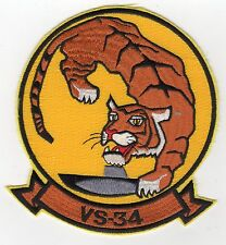 VS-34 - Tiger with sub BC Patch Cat No C5279