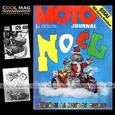 MOTO JOURNAL N°96 CLEMENT GARREAU HARLEY 125 ALETTA SALON COMPETITION NOËL '72