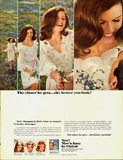 1966 Vintage ad for Nice'n Easy by Clairol/Shampoo-in Hair Color (060513)