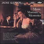 Jackie Gleason Music, Martini & Memories CD RARE! NUOVO