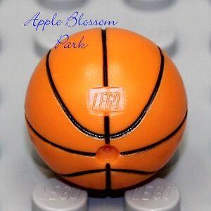 NEW 1 Lego Minifig Orange BASKETBALL Boy Girl Minifigure Toy NBA Ball Sport Gear