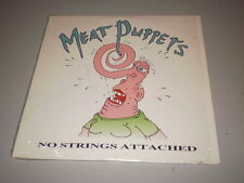MEAT PUPPETS - NO STRINGS ATTACHED - 2 LP - 1990 - MADE IN U.S.A. - SST RECORDS