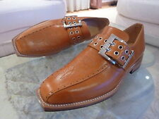 MOSCHELLA BUCKLE MENS HAND MADE LEATHER SHOES SUIT HOLDEN MONARO HK HT HG GTS
