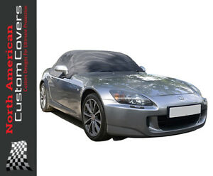 Honda S2000 Convertible Soft Top Roof Protector Half Cover - 1999 to 2009 RP134x