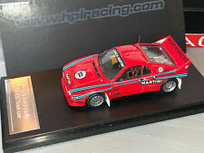 RALLY 1/43 RARE HPI MIRAGE MARTINI LANCIA RALLYE 037 FULL TEST CAR BOXED