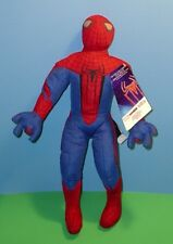 """Amazing Spider Man Stuffed Doll Toy Official Movie Merchandise Mwt 2012 13"""""""