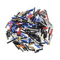 200 Lego Technic Klein Teile Pins Kreuz Stange Achse Stopper gemischt