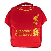 Official Kids Football Liverpool Shirt Shaped Insulated Cooler Lunch Bag Box