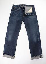 Ralph Lauren RRL Mens Straight Leg Selvedge Denim Blue Jeans 29 30 x 30 $300