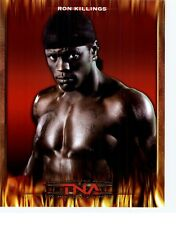 RON KILLINGS TNA IMPACT WRESTLING ORIGINAL 8x10 PROMO UNSIGNED VERY RARE FIRE