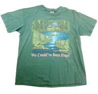 Vintage Budweiser Lizards T Shirt Mens XL Made In USA 90's