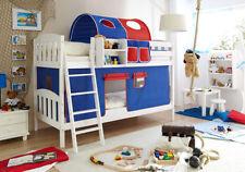 Blaue Kinder-Bettgestelle ohne Matratze aus Kiefer zum Zusammenbauen