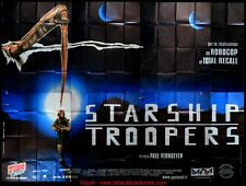 STARSHIP TROOPERS Affiche Cinéma GEANTE 4x3 WIDE Movie Poster Paul Verhoeven