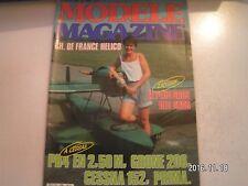 **e Modèle Magazine n°386 Enya 21 X TV / Grone 206 / Cessna 152 semi maquette
