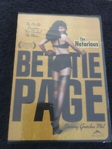 The Notorious Bettie Page Dvd Sealed