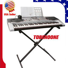 New Adjustable Metal Music Keyboard Electronic Piano X Stand Portable Rack US TO