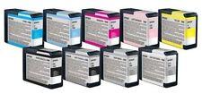 9 x Patronen Epson Stylus Pro 3880 / T5801 T5802 T5804 T5805 -T5809 T580A T580B