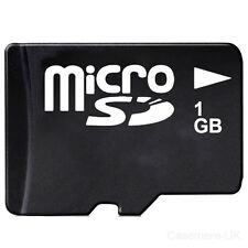 1 GB MICRO SD MEMORY CARD SUITABLE FOR MOBILE PHONES AND CAMERAS 1GB microSD