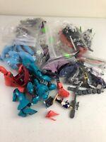 Vtg Gundam Anime Plastic Model Robots Lot