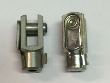Clevis M6 G 8 x 16/M6 with snap lock pin zinc coated  QUANTITY-2