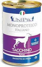 Unipro Umido monoproteico cane 12x400gr TACCHINO