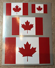 Canada Flag Luggage Stickers - Look Like You are a Canadian! Easy Peel Off & On!