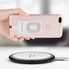 APPLE QI Wireless Empfänger Ladegerät Receiver Adapter iPhone 6 6s 7 8 Plus X GA