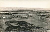 NOVA SCOTIA NS – North Mountain View from Look-Off Real Photo Postcard rppc